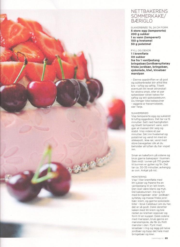 Bakemagasient kake 001 rette farger kake